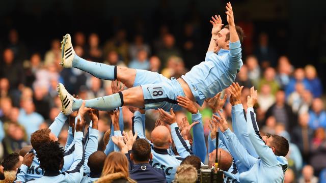 Lampard'a da böylesi yakışırdı
