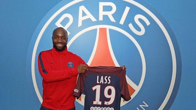Lassana Diarra PSG'de