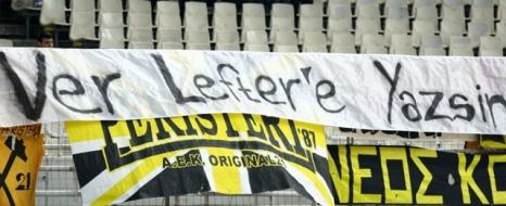 AEK da Lefter'i Unutmadı