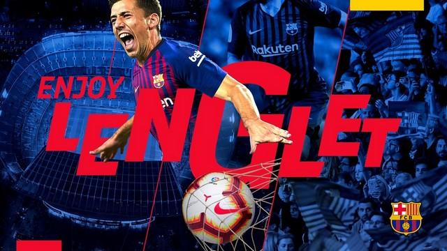 Barcelona Lenglet'i transfer etti