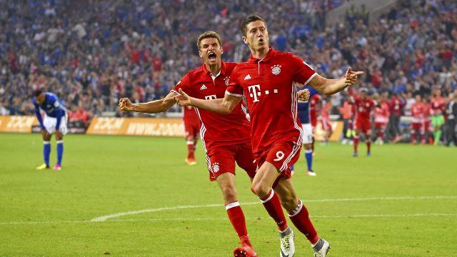 Bayern düğümü Lewa ile çözdü!