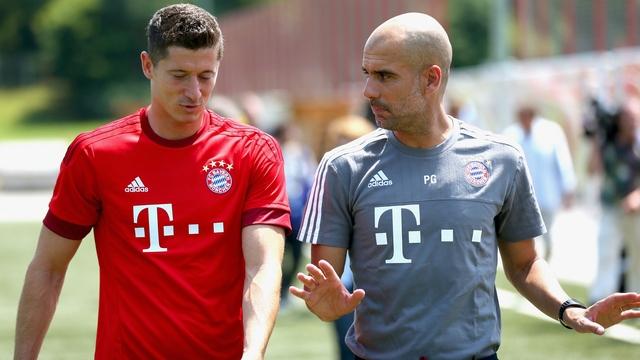 Guardiola: Lewandowski'nin aklında...
