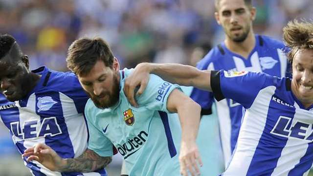 Barcelona, Messi'ye duacı