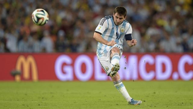 Messi'den 'buruk' mutluluk