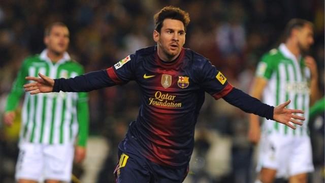 Messi'den Dünya Rekoru