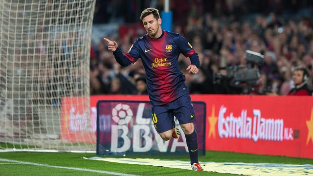 Barça Messi ile coştu