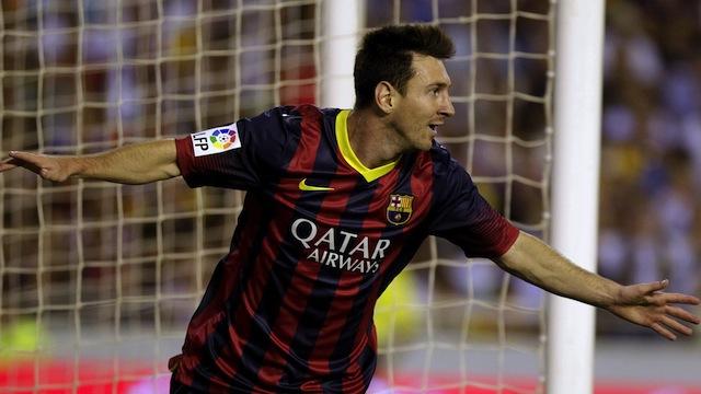 Postiga 2-3 Messi