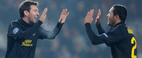 Milan'ın İşini Messi Gördü