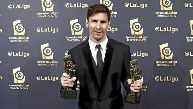 İlk raund Messi'nin