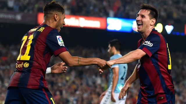 Bitirim ikili: Messi-Neymar