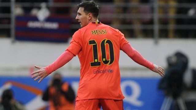 Messi durmak bilmiyor