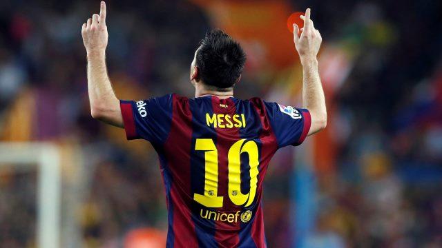 Messi'nin 1 golü kaldı