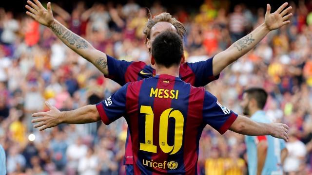 Messi'nin 3 golü kaldı