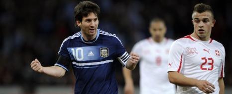 Shaqiri: 1 - Messi: 3