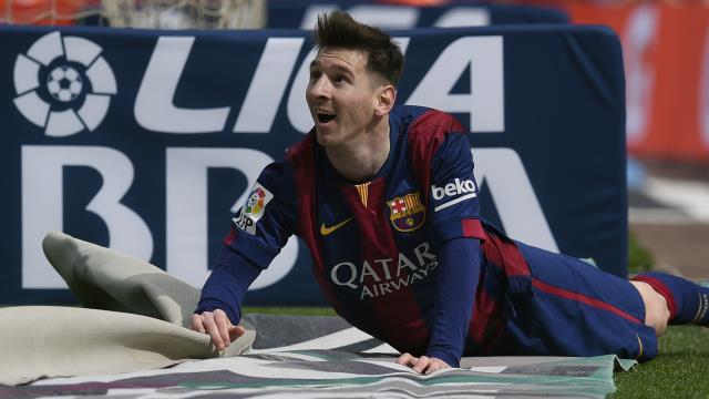 Rekor demek Messi demek