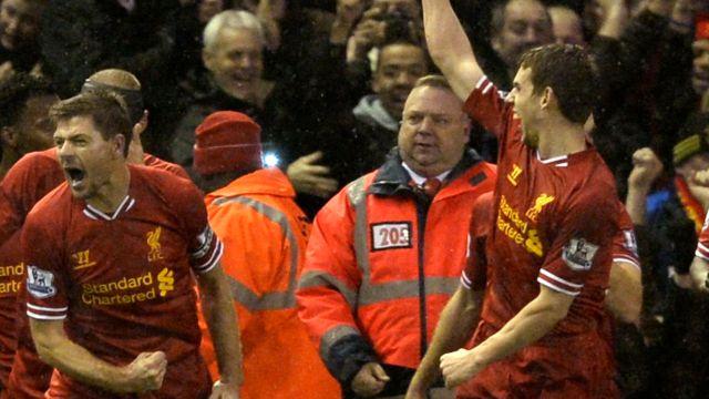 Liverpool Everton'ı parçaladı