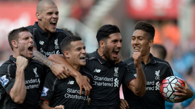 Coutinho Liverpool'a hayat verdi