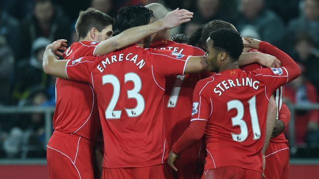Liverpool'dan tarihi galibiyet