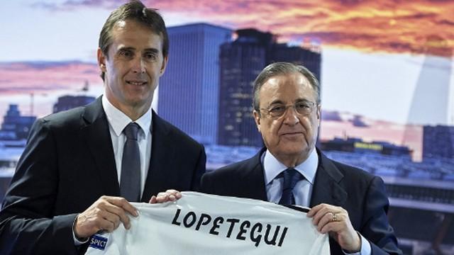 Real Madrid, Lopetegui'yi tanıttı