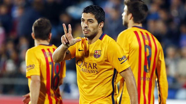 Luis Suarez'den 3. dalya