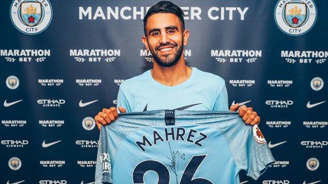 Manchester City, Riyad Mahrez'i transfer etti!