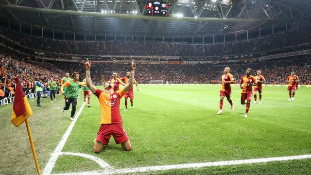 Galatasaray Avrupa'nın zirvesinde