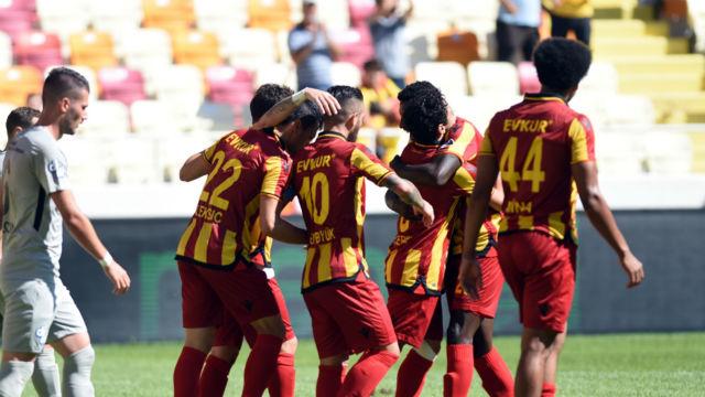 Yeni Malatyaspor üç hafta sonra kazandı