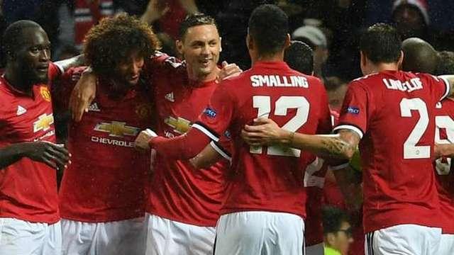 Man Utd, Şampiyonlar Ligi'ne kazanarak döndü