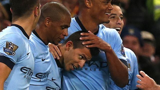 Manchester City Stoke'a patladı