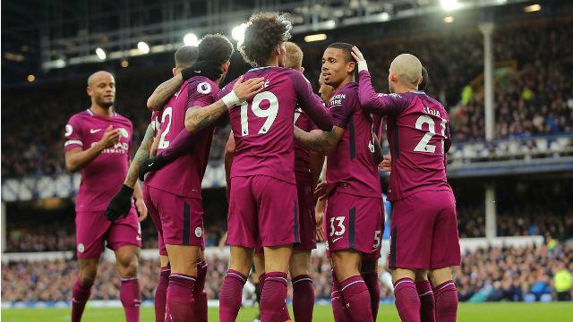 City, Everton'u ilk yarıda nakavt etti