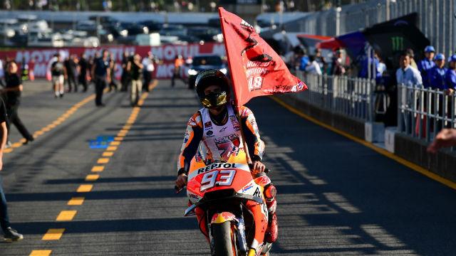 Marquez, Japonya'da şampiyonluğunu ilan etti
