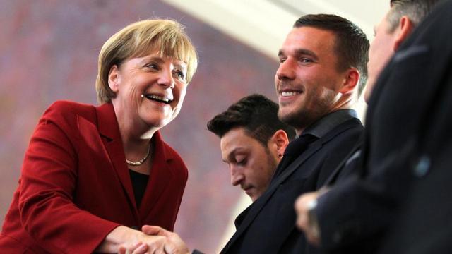 Alman yıldızlara büyük onur