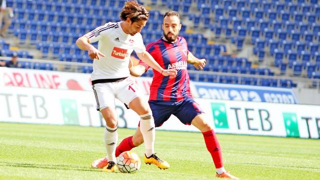 Mersin Arena'da gol yok