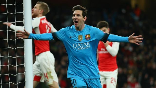 Messi attı, Arsenal yıkıldı!