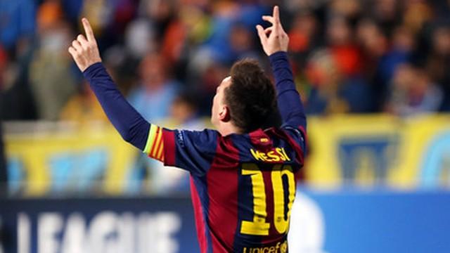 Messi'nin gecesi!