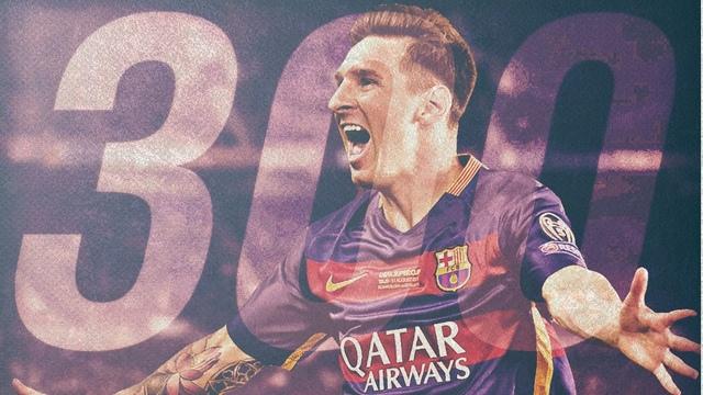 Messi '300' dedi!