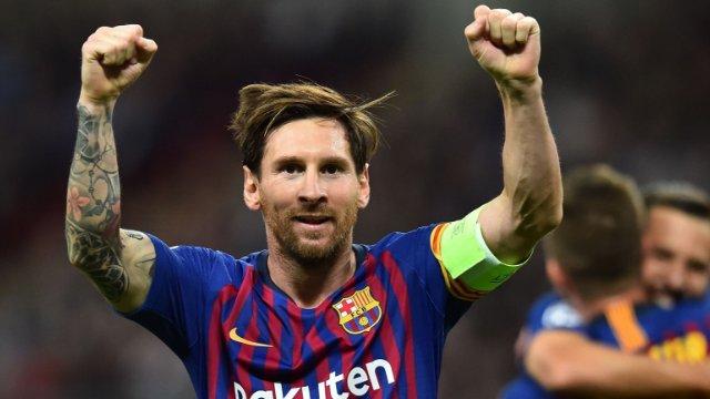 Wembley'den Lionel Messi geçti