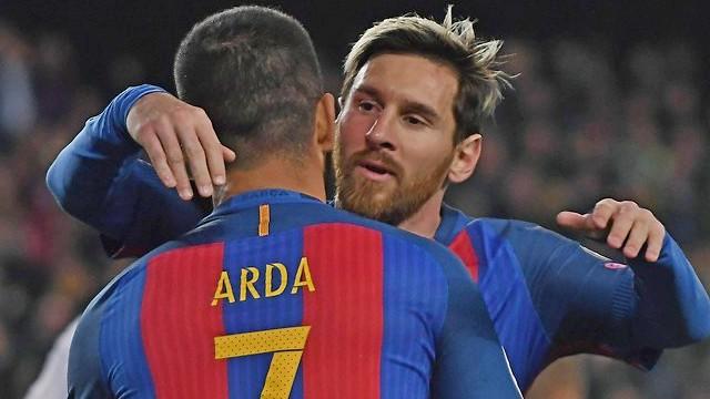 Messi'den Arda'ya veda...