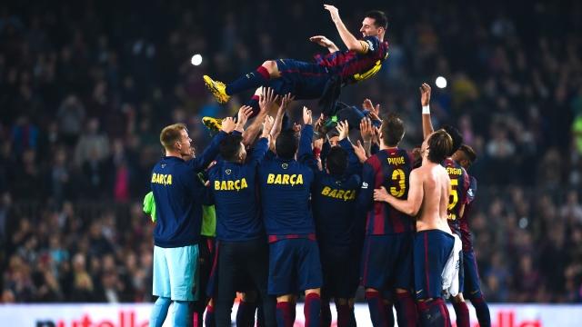 Messi'ye özel tören