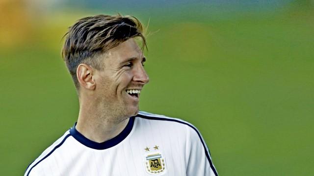 Messi için gurur gecesi