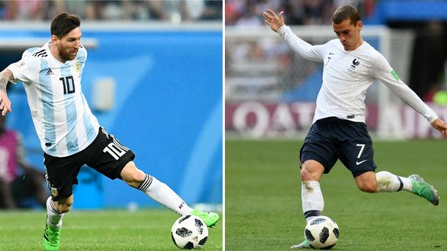 Griezmann Messi'ye, Suarez Ronaldo'ya karşı!