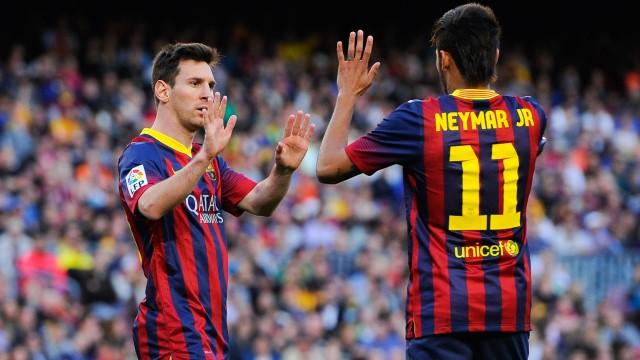 Messi: Finalde Neymar'ı istiyorum