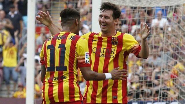 Messi ve Neymar işi bitirdi