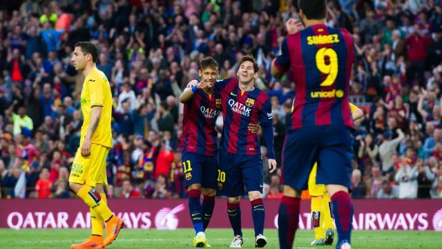 Messi, Suarez, Neymar 'dalya' dedi!