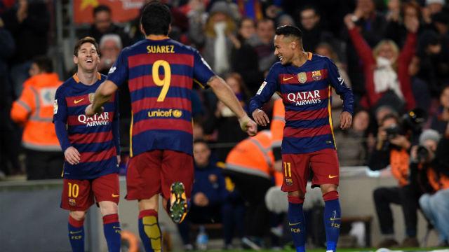 MSN şov yaptı Barça rahat kazandı