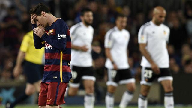 Messi'nin 500'ü iyi gelmedi
