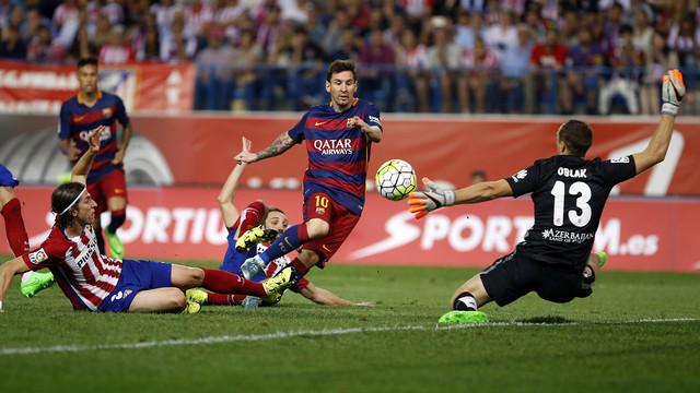 Barça, Atletico'yu devirdi