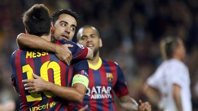 Messi çıktı Barça uçtu