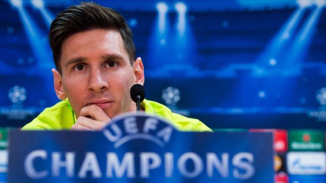 Messi: Artık favori yok