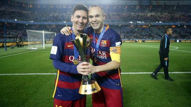 Iniesta-Messi, kupa onların işi